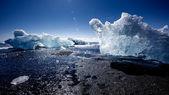 Jokulsarlon, Iceland - Mid summer. — Stock Photo