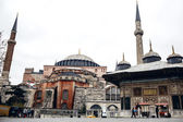 Hagia Sophia contre ciel nuageux — Photo