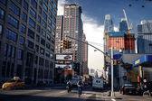 Typical street of Manhattan — Stock Photo