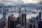 Modern buildings of Hong Kong — Stock Photo