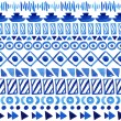 Seamless aztec pattern. — Stock Vector #55278583