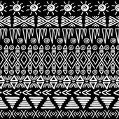 无缝的阿兹台克模式. — 图库矢量图片