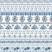 Seamless aztec pattern. — Stock Vector