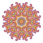 Hand drawn ornamental background. — Stok Vektör