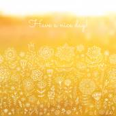 Have a nice day background. — Stock Vector