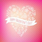 Valentine day background. — Stock Vector