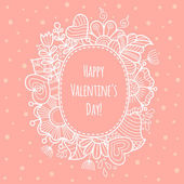 Valentine Day background. — Stockvektor