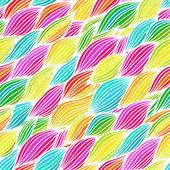 Hand drawn wavy background. — Stock Vector