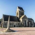 St Mere Eglise — Stock Photo #74544445