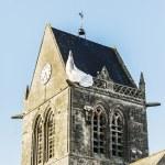 St Mere Eglise — Stock Photo #74551155