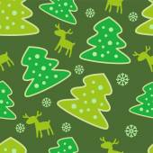 Seamless pattern new year — Vettoriale Stock