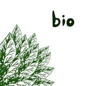 Eco illustration — Stock Vector