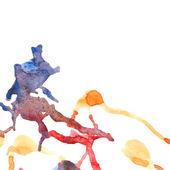 Watercolor splash — Stock Vector