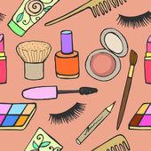 Conjunto de cosméticos — Vetorial Stock
