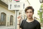 Guy de Teen touristique — Photo