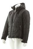 Black winter-jacket — Stockfoto