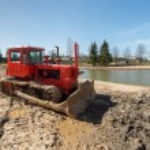 Crawler tractor — Stock Photo #70034671
