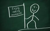 Enjoy every moment — Stock Photo