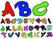 ADB Hand Drawn Fat Brush 2 — Stock Vector
