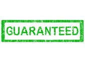 Grunge Office Stamp - GUARANTEED — Stock Vector