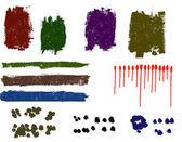 Grunge elements - An Assortment of Grunge elements 1 — Stock Vector