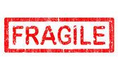 Grunge Office Stamp - FRAGILE — Stock Vector
