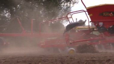 Planting crops. — Video Stock