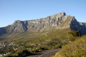 Table mountain in cape town,south africa — Stock Photo