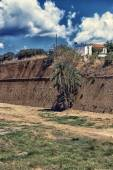 Venetian fortification Walls of Chania — Stock Photo