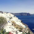 Oia village on the island of Santorini — Stock Photo #54586957