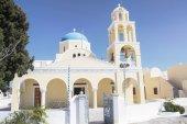Oia village on the island of Santorini — Stock Photo