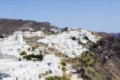 Oia village on the island of Santorini — Stock Photo