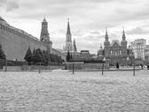National Historic Museum at Red Square in Moscow — Stock Photo