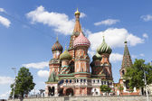 Most famous Russian Cathedral on the Red Square — Stock Photo