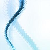 青の抽象的なベクトルの背景 — ストックベクタ