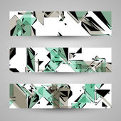 Abstract banner backgrounds — 图库矢量图片