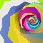 Abstract dynamic illustration — Stockvektor