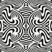 Optical illusion illustration — Stock Vector
