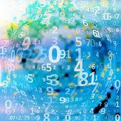 Digital code background — Stock Vector