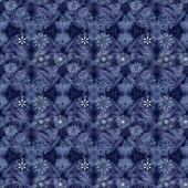 Christmas seamless background with glitter white snowflakes — Stock Photo