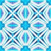 Beautiful seamless background of snowflakes — Zdjęcie stockowe