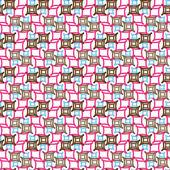 Die Textur für festliche wrapper — Stockvektor