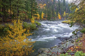 Wenatchee River rapids. — Stock Photo