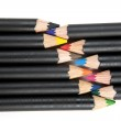 Coloring pencils laced together. — Stock Photo #58832929
