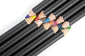 Coloring pencils interlaced. — Stock Photo