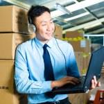 Customer Service in a warehouse — Stock Photo #69698713
