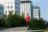Urban Sport - Fitness in der Stadt — Stockfoto
