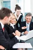 Business - successful meeting in an office — Fotografia Stock