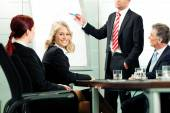 Business - presentation in team meeting — Stock Photo
