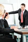 Business - presentation within a team — Stock Photo